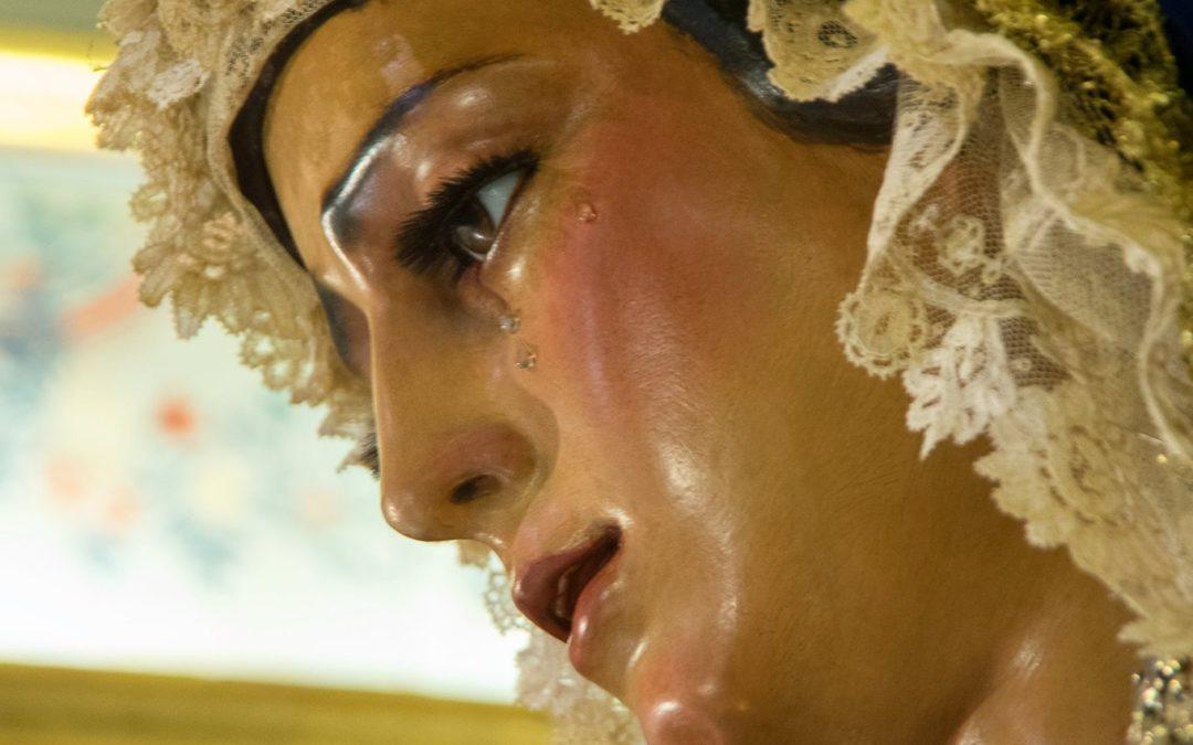 Función Solemne en Honor a María Santísima de las Angustias Coronada con motivo de la celebración del XXIX Aniversario de su Coronación Canónica.