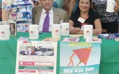 """La Bolsa de Caridad apoyando a la """"Asociación de Esclerosis Múltiple de Andalucía"""""""