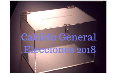 Cabildo Elecciones Enero 2018