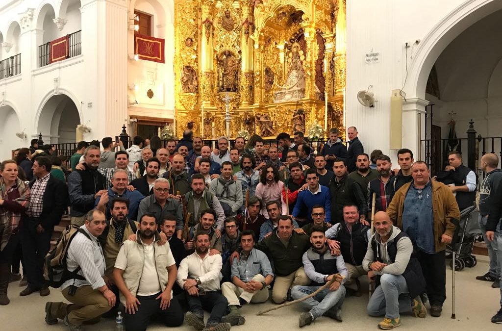 II Peregrinación de la cuadrilla del palio de María Santísima de las Angustias a la ermita del Rocio