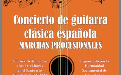 CONCIERTO DE MARCHAS PROCESIONALES INTERPRETADAS A GUITARRA POR PROYECTO GUÍA-GUITARRAS DE ANDALUCÍA