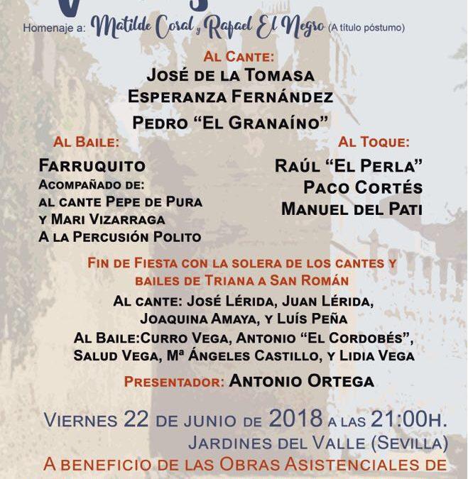 La Hermandad de los Gitanos de Sevilla prepara su Iº Festival Flamenco