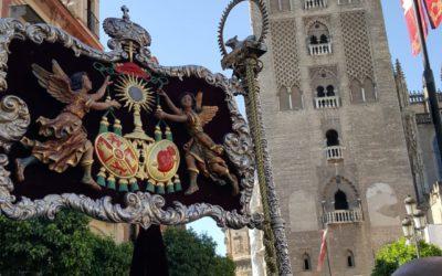 La Hermandad de Los Gitanos participó Corporativamente en la Procesión del Corpus