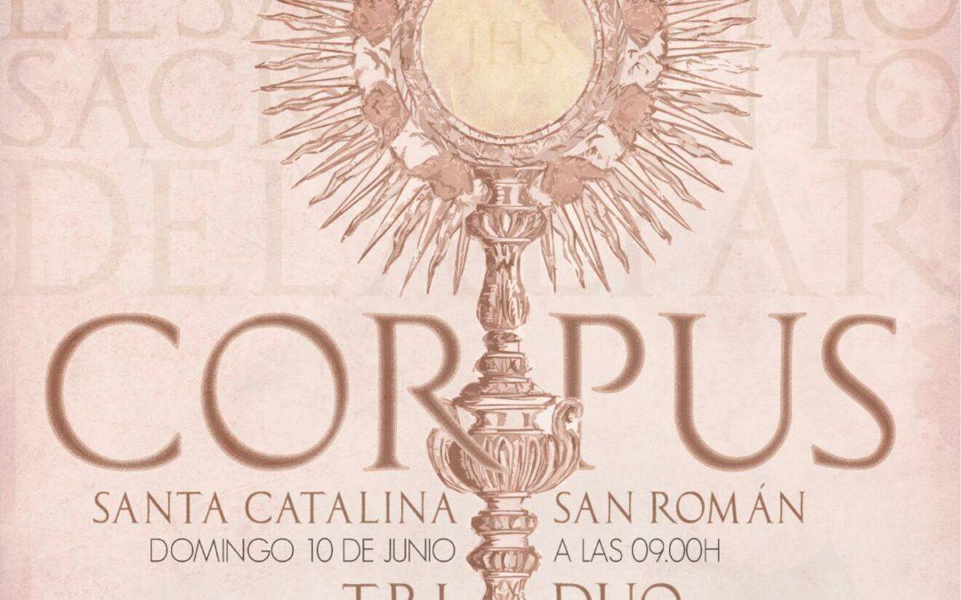 Triduo Sacramental y Procesión de Corpus Parroquial