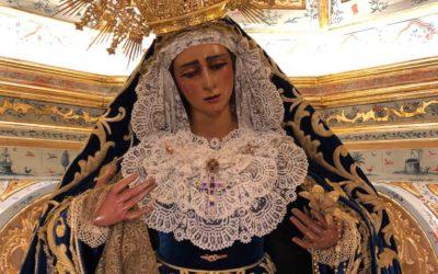 Función Solemne en Honor de María Santísima de las Angustias por el XXXIº aniversario de su Coronación Canónica