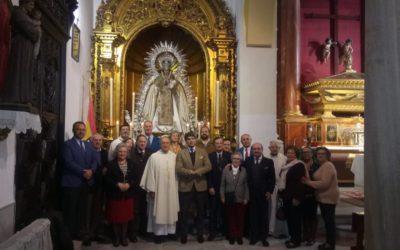 La Hermandad Sacramental de Los Gitanos peregrina a la Iglesia de la Merced de San Gregorio