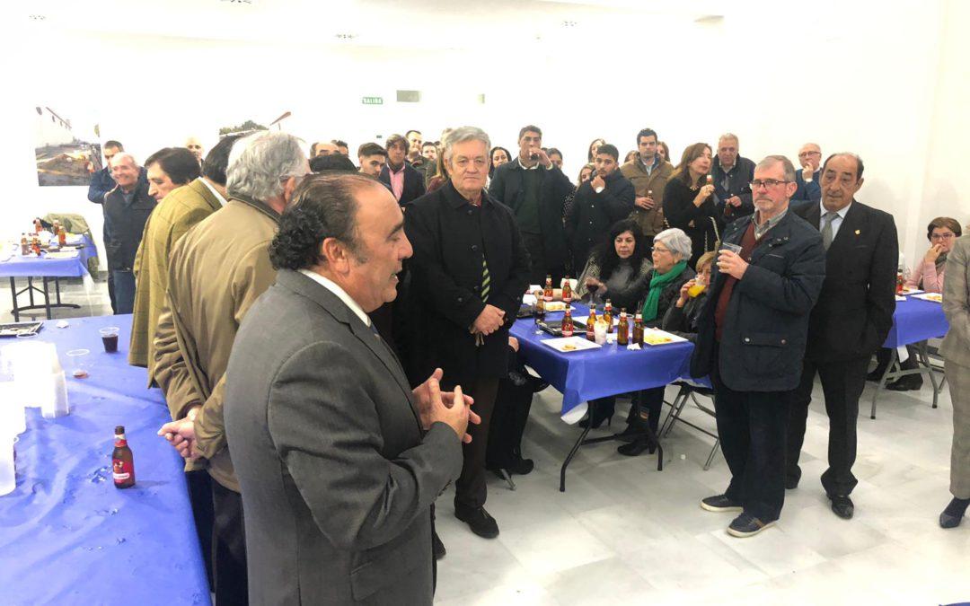 Más de 140 personas asisten a la Iª Convivencia de Navidad de la Hermandad