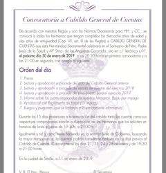 Cabildo General de Cuentas 2019