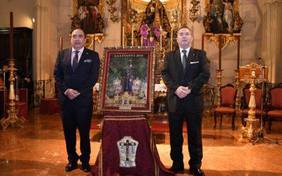 """La Tertulia Cofrade """"La Levantá"""" presenta su cartel de la Semana Santa 2019 en nuestro Santuario"""