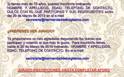 """Iº Concurso Solidario """"Dulce Cuaresma"""""""