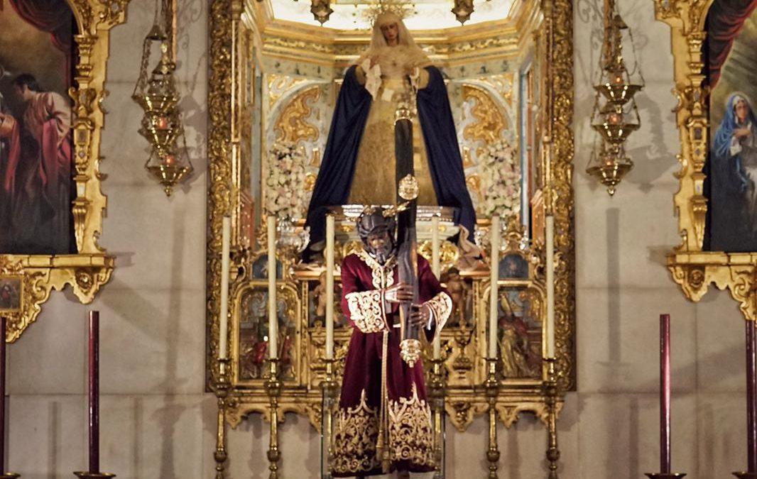 Tras la Estación de Penitencia… El Señor vuelve a su altar y la Virgen de la Angustias a su camarín