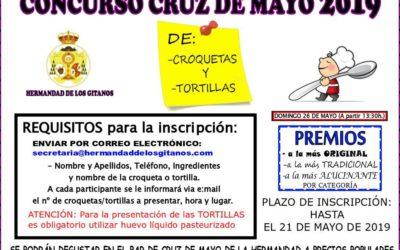 Concursos Cruz de Mayo 2019