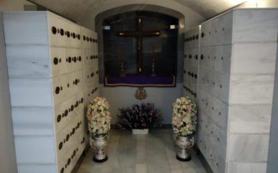 Visitas al Columbario mes de Agosto