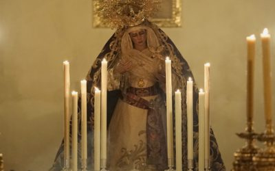 Función Solemne a María Santísima de las Angustias Coronada y exposición de nuestra titular para Su veneración