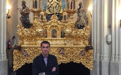 Emilio Trigo Naranjo, Pregonero de la Hermandad Sacramental de Los Gitanos 2020