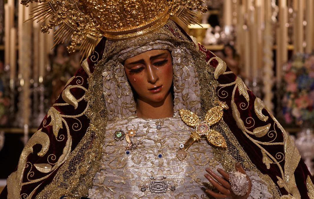 Solemne besamanos de María Santísima de las Angustias