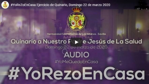 #YoRezoEnCasa con la Hermandad Sacramental de Los Gitanos Función Principal de Instituto