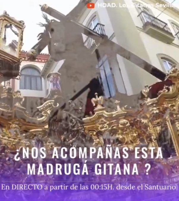 ¿Nos acompañas en esta #MadrugáGitana20?