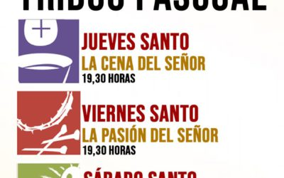 #YoRezoEnCasa Sigue en directo el Triduo Pascual