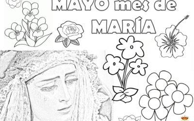 Nuevas manualidades para los más pequeños: «Mayo, mes de María»