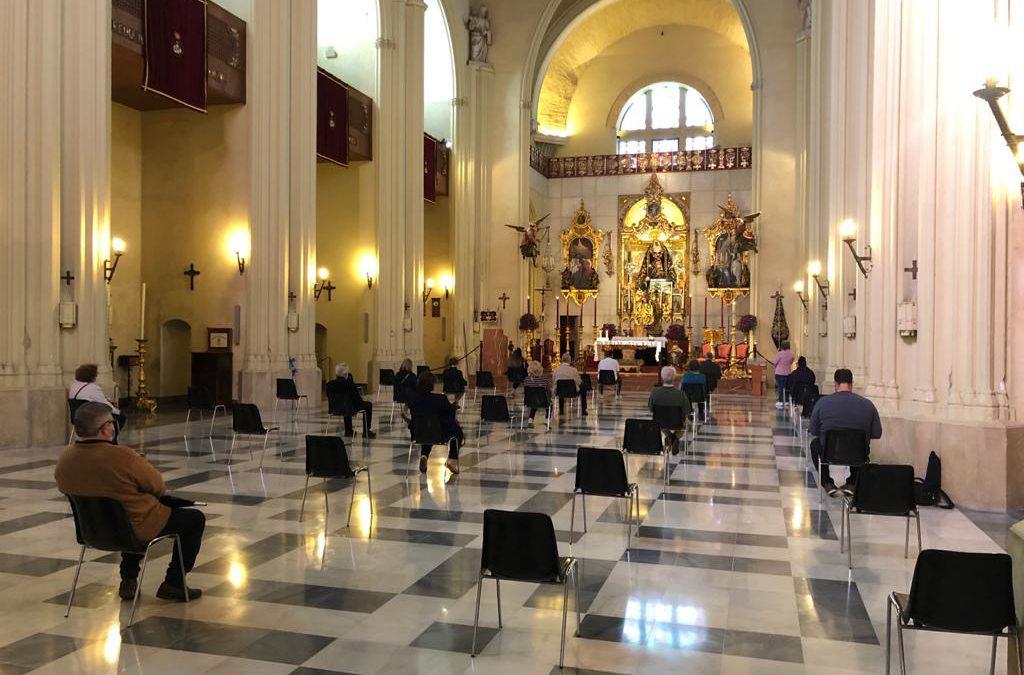 Información de interés en Fase 2: Ampliación del aforo del Santuario y reapertura de la Tienda de Recuerdos y Casa Hermandad