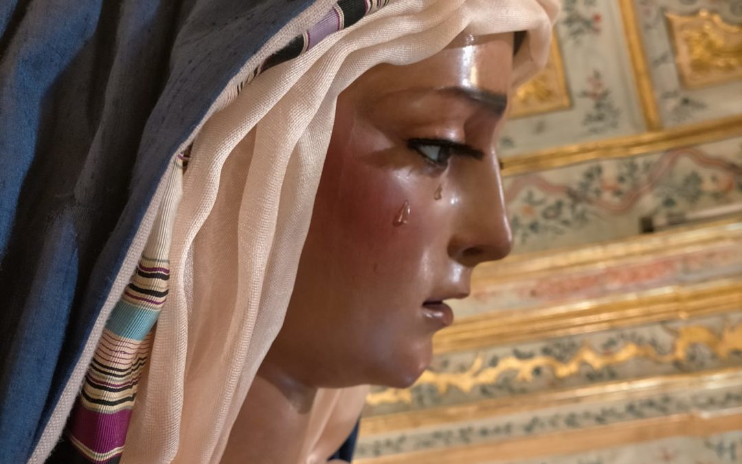 María Santísima de las Angustias vestida de Hebrea