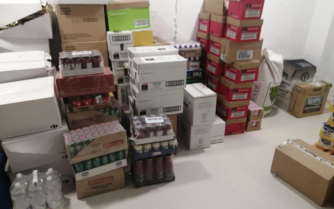 Gran envío del Banco de Alimentos para la campaña «Al Prójimo como A Ti Mismo»