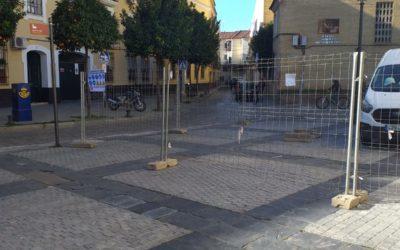 Inician las obras de peatonalización de las inmediaciones a nuestro Santuario