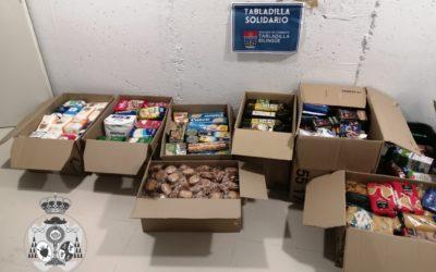 Donación de alimentos del Colegio de Fomento Tabladilla