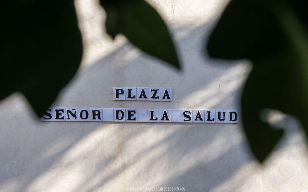 Inaugurada y bendecida la Plaza Señor de la Salud