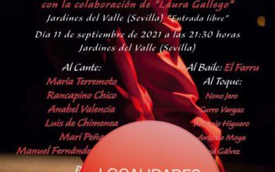 Agotadas las invitaciones del Festival Flamenco Valle Gitano para el día 11 de septiembre