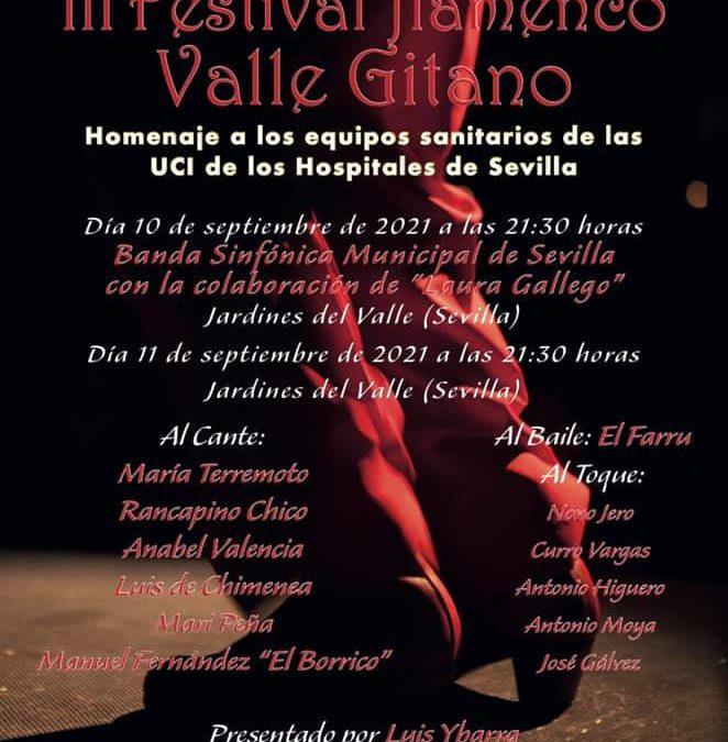 Agostada las nuevas localidades disponibles para el Festival Valle Gitano