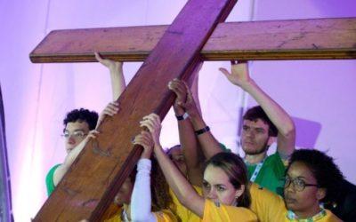 La Cruz Peregrina de la JMJ llega a nuestro Santuario