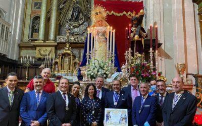 La Hermandad asiste al acto memorial del XXVº aniversario fundacional de la Hermandad de Los Gitanos de Madrid